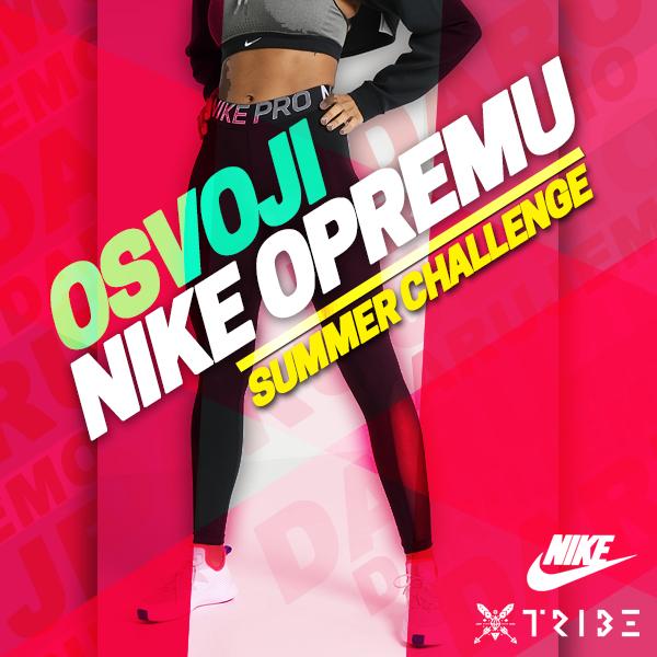 Tribe Našice - fitness - treninzi - osvoji Nike opremu
